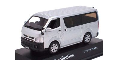 J-COLLECTION 1/43scale Toyota Hiace OPEN  WINDOW Silver Met. [No.JC35002S]