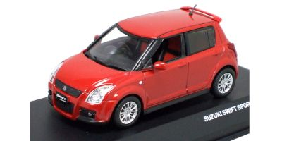 J-COLLECTION 1/43scale SUZUKI SWIFT SPORT 5 DOORS 2006 Supreme Red Pearl 2 [No.JC44001RP]