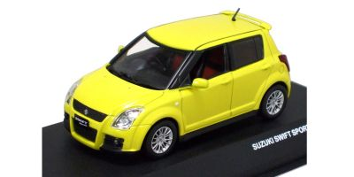 J-COLLECTION 1/43scale SUZUKI SWIFT SPORT 5 DOORS 2006 Champion Yellow 4 [No.JC44002CY]