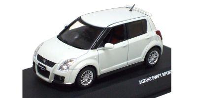 J-COLLECTION 1/43scale SUZUKI SWIFT SPORT 5 DOORS 2006 White [No.JC44006PW]