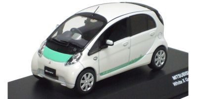 J-COLLECTION 1/43scale MITSUBISHI I-MiEV presentation version White Pearl [No.JC59001WG]