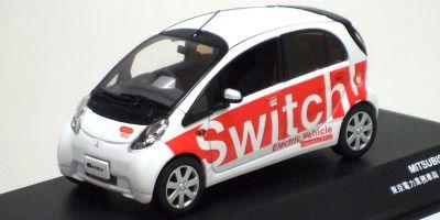J-COLLECTION 1/43scale MITSUBISHI i-MiEV 東京電力 業務車両 Red [No.JC59005TK]