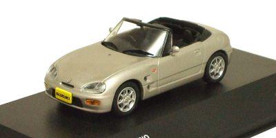 J-COLLECTION 1/43scale Suzuki Cappuccino 1993 Satellite Silver [No.JCK40005S]