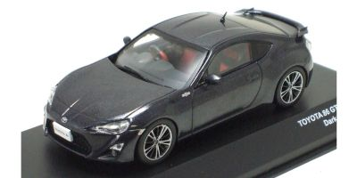 J-COLLECTION 1/43scale TOYOTA 86 GT Limited Dark Gray Metallic [No.JCP73006DG]