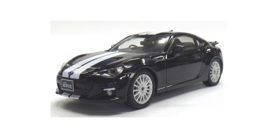 J-COLLECTION 1/43scale Subaru BRZ Black/White line [No.JCP74008BL]