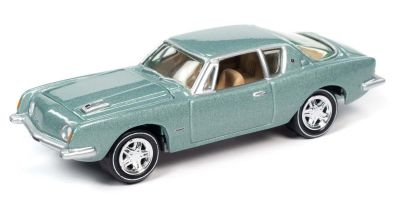 JOHNNY LIGHTNING 1/64scale 1963 Studebaker Avanti Sheath Play Green  [No.JLCG022A1G]