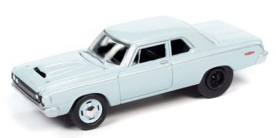 JOHNNY LIGHTNING 1/64scale 1964 Dodge 330 Light Blue  [No.JLCG022A5BL]