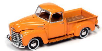 JOHNNY LIGHTNING 1/64scale 1950 Chevy Truck Omaha Orange  [No.JLCG022A6OR]