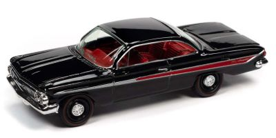 JOHNNY LIGHTNING 1/64scale 1961 Chevy Impala SS 409 Gloss Black  [No.JLCG023A4BK]