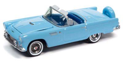 JOHNNY LIGHTNING 1/64scale 1956 Ford Thunderbird Diamond Blue  [No.JLCG023A6BL]