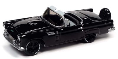 JOHNNY LIGHTNING 1/64scale 1956 Ford Thunderbird Gross Black  [No.JLCG023B6BK]