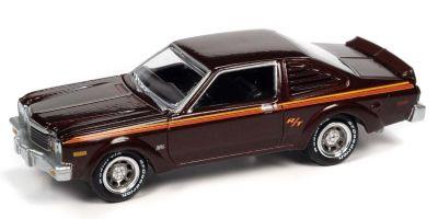 JOHNNY LIGHTNING 1/64scale 1976 Dodge Aspen Red Brown  [No.JLCG025A6RB]