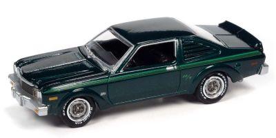 JOHNNY LIGHTNING 1/64scale 1976 Dodge Aspen Dark Green  [No.JLCG025B6GR]