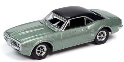 JOHNNY LIGHTNING 1/64scale 1967 Pontiac Firebird Green  [No.JLCT004A1G]