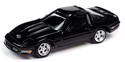JOHNNY LIGHTNING 1/64scale 1995 Chevy Corvette ZR-1 Black  [No.JLCT004A3BK]