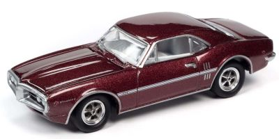 JOHNNY LIGHTNING 1/64scale 1967 Pontiac Firebird Burgundy  [No.JLCT004B1BP]