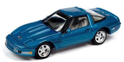 JOHNNY LIGHTNING 1/64scale 1995 Chevy Corvette ZR-1 Blue  [No.JLCT004B3BL]