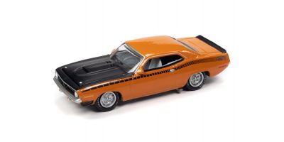 JOHNNY LIGHTNING 1/64scale 1970 Plymouth AAR Barracuda Orange  [No.JLCT005A2OR]