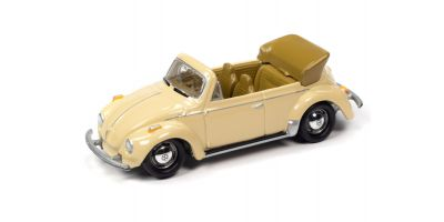 JOHNNY LIGHTNING 1/64scale 1975 VW Super Beetle Convertible Cream  [No.JLCT005B1CR]