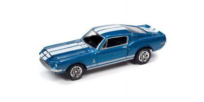 JOHNNY LIGHTNING 1/64scale 1968 Shelby GT350 Blue  [No.JLCT005B3BL]