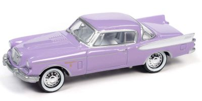 JOHNNY LIGHTNING 1/64scale 1957 Studebaker Golden Hawk Purple  [No.JLCT006APR]