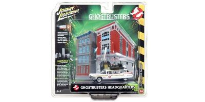 JOHNNY LIGHTNING 1/64scale Ghostbusters2 Cadillac 1959 Ecto-1A Panel Diorama Set  [No.JLDR002A]