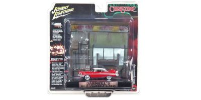 JOHNNY LIGHTNING 1/64scale Christine Plymouth Fury 1958 Panel Diorama Set  [No.JLDR002B]