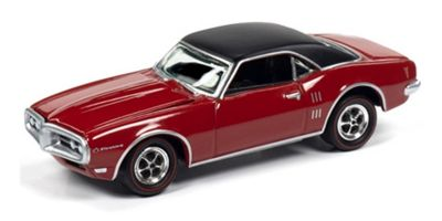 JOHNNY LIGHTNING 1/64scale 1968 Pontiac Firebird (Solar Red)  [No.JLMC022A5R]