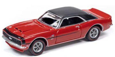 JOHNNY LIGHTNING 1/64scale 1968 COPO Chevy Camaro RS / SS (Matador Red)  [No.JLMC023B6R]