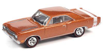 JOHNNY LIGHTNING 1/64scale 1969 Dodge Dart GTS B3 Copper (Iridescent) / White  [No.JLMC024B1CP]