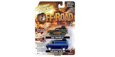 "JOHNNY LIGHTNING 1/64scale Johnny Lightning  2-Pack Special  ""Off Road Set""  [No.JLPK003A]"