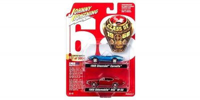 "JOHNNY LIGHTNING 1/64scale Johnny Lightning  2-Pack Special  ""Class of 68 Set""  [No.JLPK003B]"