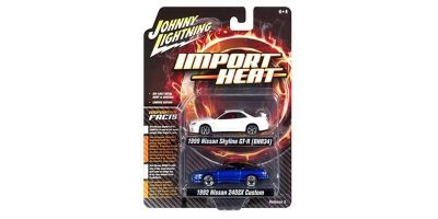 "JOHNNY LIGHTNING 1/64scale Johnny Lightning  2-Pack Special  ""IMPORT HEAT(Nissan)Set""  [No.JLPK004A]"
