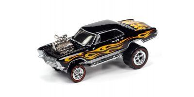 JOHNNY LIGHTNING 1/64scale 1965 Buick Riviera Gross Black  [No.JLSF017A1BK]