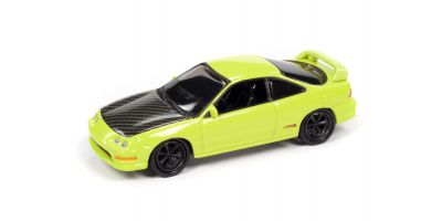 JOHNNY LIGHTNING 1/64scale 1997 Acura Integra Yellow (Import Heat)  [No.JLSF017A6Y]