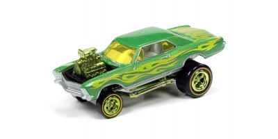 JOHNNY LIGHTNING 1/64scale 1965 Buick Riviera Metallic Lime  [No.JLSF017B1G]