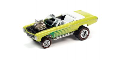 JOHNNY LIGHTNING 1/64scale 1969 Chevy Impala Convertible Lime Green  [No.JLSF018A1G]