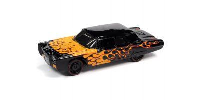 JOHNNY LIGHTNING 1/64scale 1966 Chrysler Imperial Custom Black / Frames  [No.JLSF018A2BK]