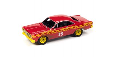 JOHNNY LIGHTNING 1/64scale 1967 Ford Fairlane Demolition Derby Red  [No.JLSF018A4R]