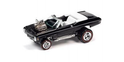 JOHNNY LIGHTNING 1/64scale 1969 Chevy Impala Convertible Gloss Black  [No.JLSF018B1BK]