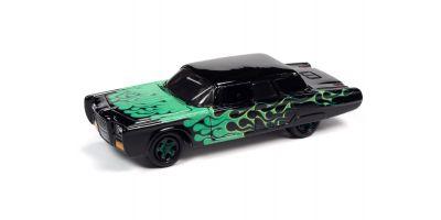 JOHNNY LIGHTNING 1/64scale 1966 Chrysler Imperial Custom Black / Frames  [No.JLSF018B2BK]
