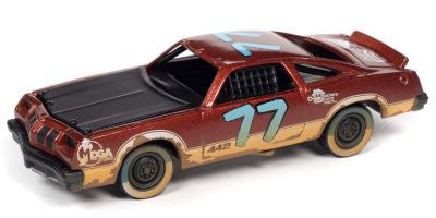 JOHNNY LIGHTNING 1/64scale 1977 Oldsmobile Cutlass Stock Car Red / Demolition Derby # 77  [No.JLSF019A5RG]