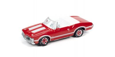 JOHNNY LIGHTNING 1/64scale 1970 Oldsmobile 442 Convertible Matador Red  [No.JLSP102B]