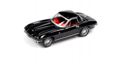 JOHNNY LIGHTNING 1/64scale 1965 Chevrolet Corvette Hardtop Gloss Black  [No.JLSP103A]