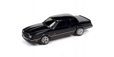 JOHNNY LIGHTNING 1/64scale 1987 Chevrolet Monte Carlo Black / Gold Stripe  [No.JLSP104B]
