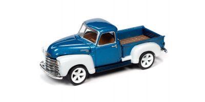 JOHNNY LIGHTNING 1/64scale 1950 Chevrolet Truck Metallic Blue / White  [No.JLSP106B]