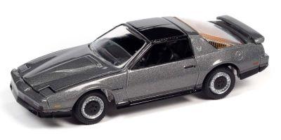 JOHNNY LIGHTNING 1/64scale 1984 Pontiac Firebird Transam Silver  [No.JLSP148A]