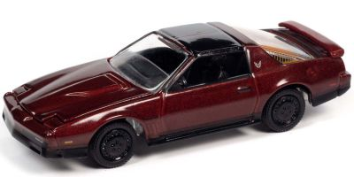 JOHNNY LIGHTNING 1/64scale 1984 Pontiac Firebird Transam Dark Red  [No.JLSP148B]