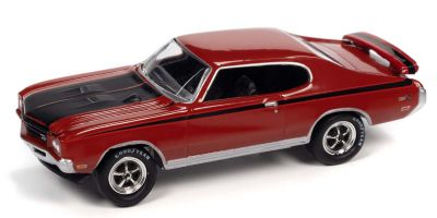 JOHNNY LIGHTNING 1/64scale 1971 Buick GSX Fire Red / Black  [No.JLSP151A]