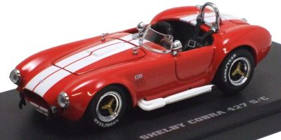 KYOSHO 1/43scale Shelby Cobra 427S/C Racing Screen Red/Whiteline [No.K03016RW]